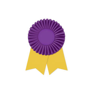 Promotional Award Ribbons-RO-406LR