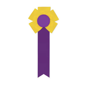 Promotional Award Ribbons-RF-410M