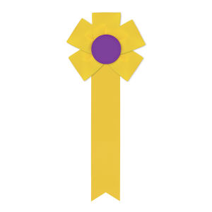 Promotional Award Ribbons-RF-512M