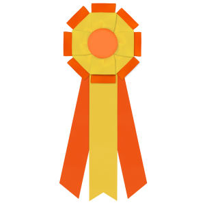 Promotional Award Ribbons-R2FF-6153