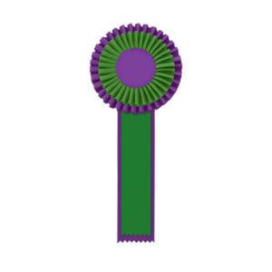 Promotional Award Ribbons-R2O-512M2