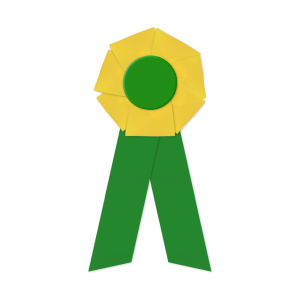 Promotional Award Ribbons-RFF-4510LR