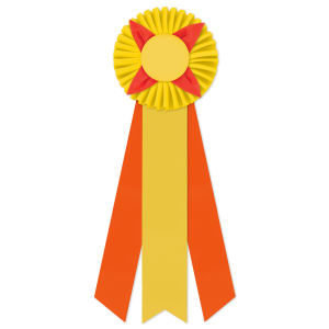Promotional Award Ribbons-ROF-5153