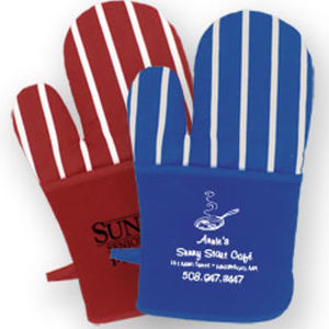 All cotton oven mitt