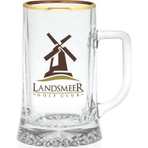 European glass tankard, 17