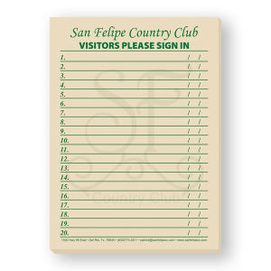 Promotional Jotters/Memo Pads-BL-6715
