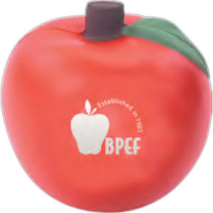 Red apple shaped stress