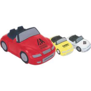 Convertible car shaped stress