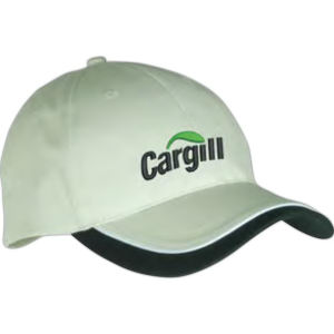 Low-profile structured cap.