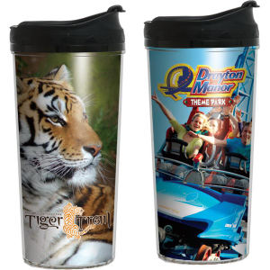 Insulated tumbler with four