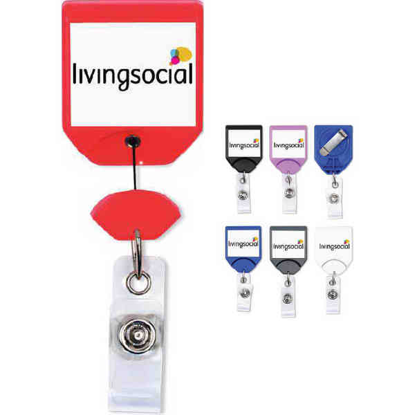 Badge holders with a