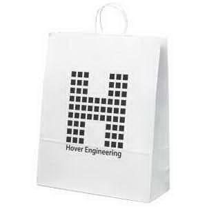 White Paper Shopper. White