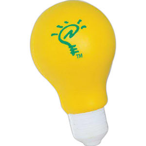 Light bulb-shaped stress reliever