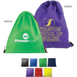 Drawstring Backpack made of
