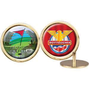 Gold ball marker with