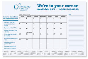 Promotional Desk Calendars-CDP1B