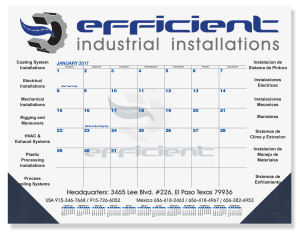 Promotional Calendar Pads-DDP1A