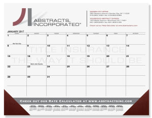 Promotional Calendar Pads-DDP3B
