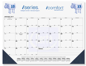 Promotional Calendar Pads-DDP5B