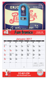 Promotional Wall Calendars-MW17