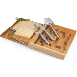 Wooden cutting board with