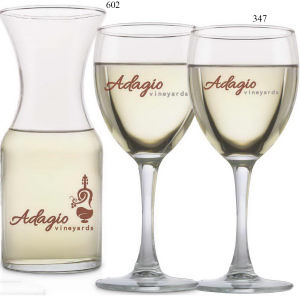 Three piece wine set.