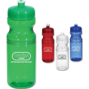 Poly clear sports bottle,