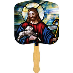 Religious Hand Fans -