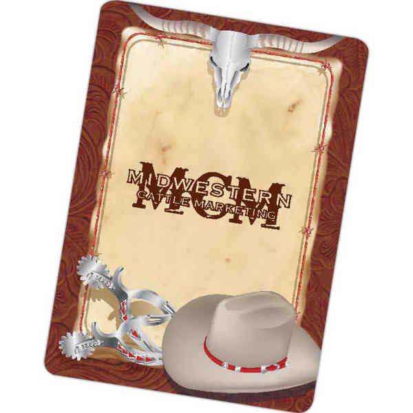 Western theme, poker size