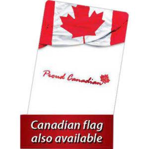 Canadian Flag design back