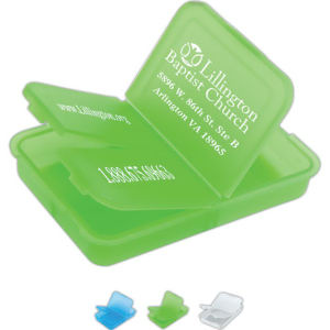 Slotted pill box, 2