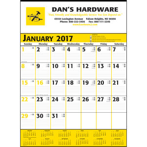 Promotional Contractor Calendars-371