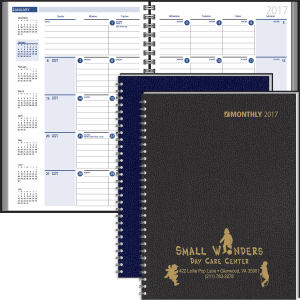 Desk planner with ruled