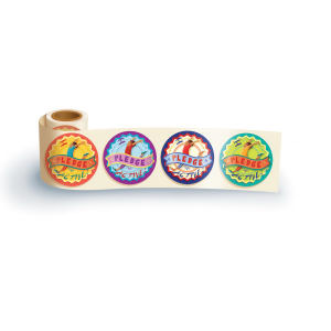 Promotional Labels, Decals, Stickers-FS109