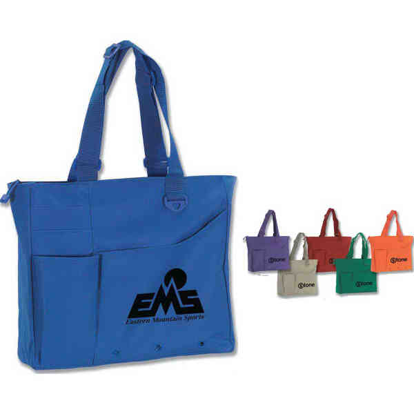 Tote bag with adjustable