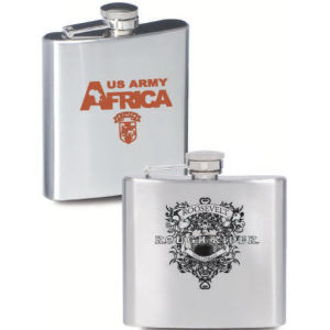 Stainless steel flask with