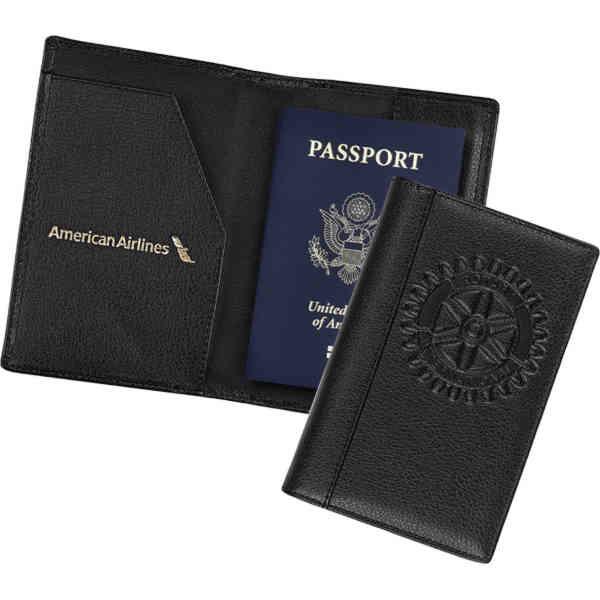 Passport holder made of
