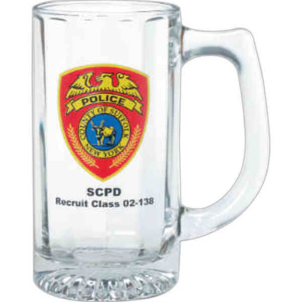 12 oz. clear glass