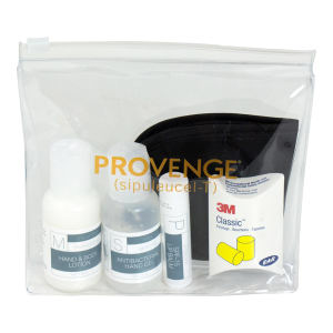 Patient comfort kit holds