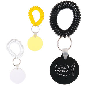 Promotional Vinyl Key Tags-CL120