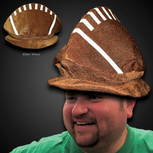 Our plush football hat