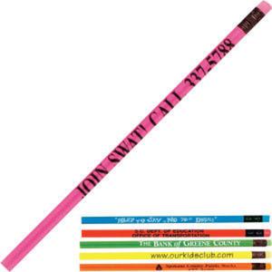 Deluxe neon round pencil