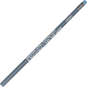 Round recycled denim pencil.