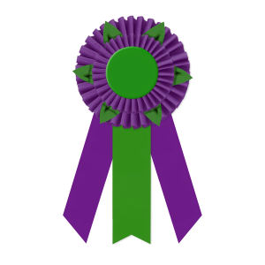 Promotional Award Ribbons-RO2F-6123