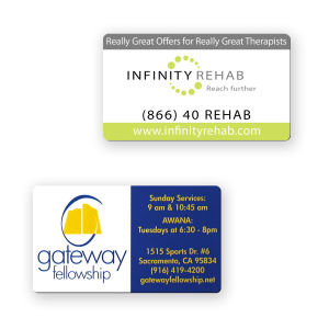 Promotional Business Card Magnets-BL-5152-30