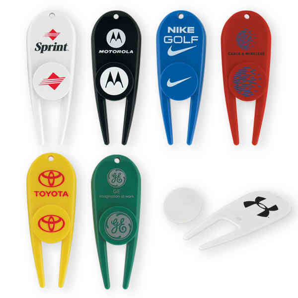 Our golf divot tool