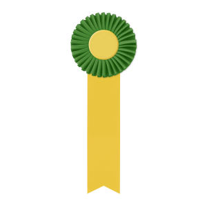 Promotional Award Ribbons-RO-411M