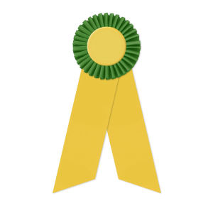 Promotional Award Ribbons-RO-308LR