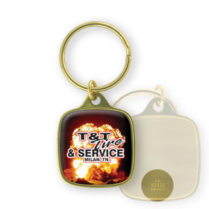 Promotional Metal Keychains-BL-1413