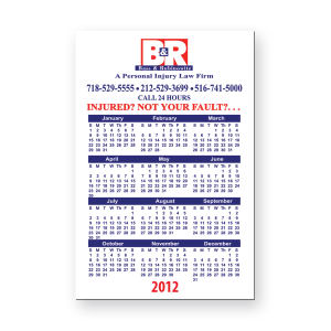 Promotional Magnetic Calendars-BL-5160C-20
